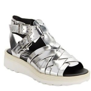 9c3593aaac5fab Circus by Sam Edelman Shoes - 🆕 Loew Metallic Woven Platform Sandal